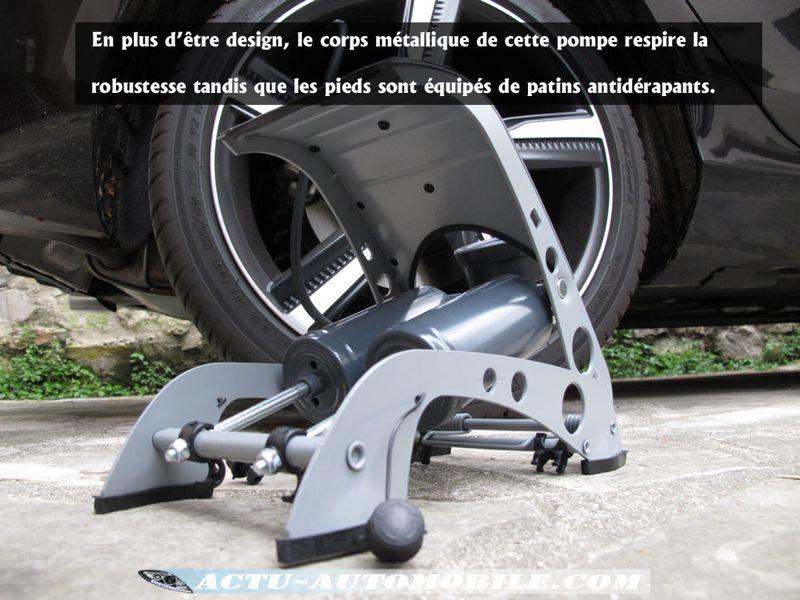 Pompe à pieds double pistons Michelin