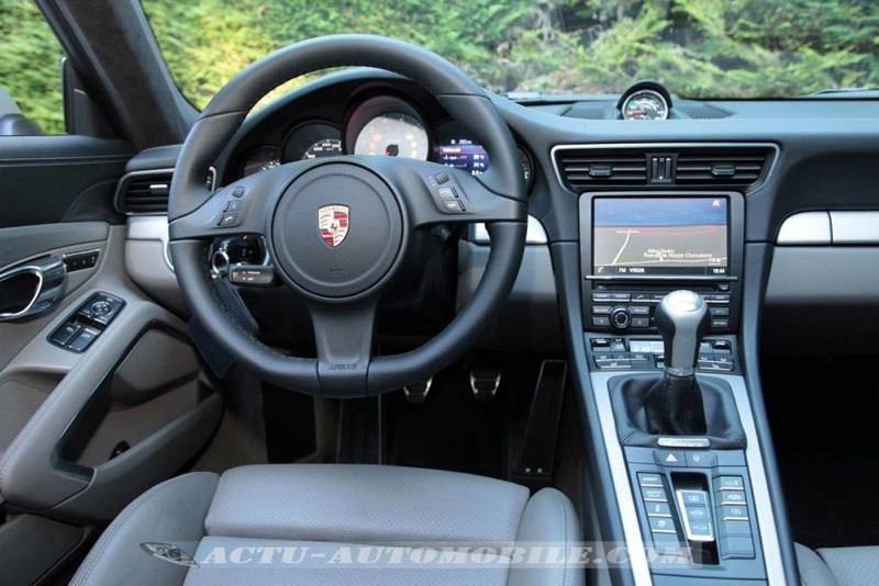 Nouvelle Porsche 911 Carrera S