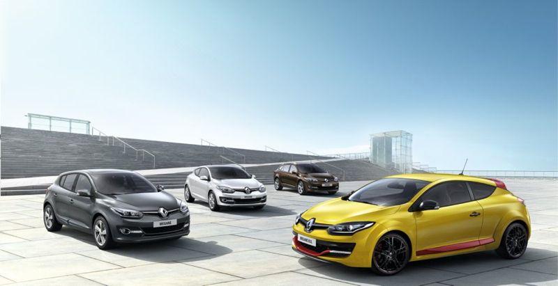 Renault Mégane restylée 2014