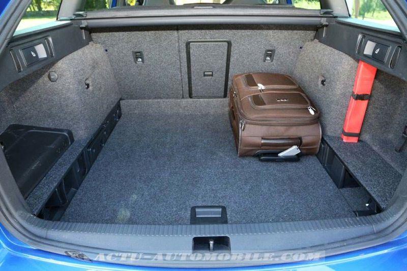 Coffre nouvelle Skoda Octavia RS Combi