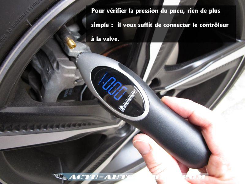 Contrôleur de pression Michelin