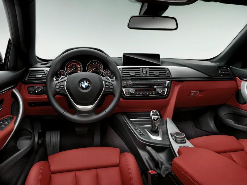 BMW Série 4 Cabriolet : la planche de bord