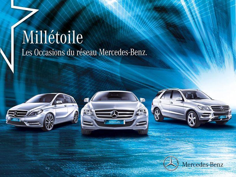 Label occasion Mercedes Millétoile
