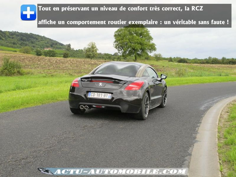 Tenue de route Peugeot RCZ