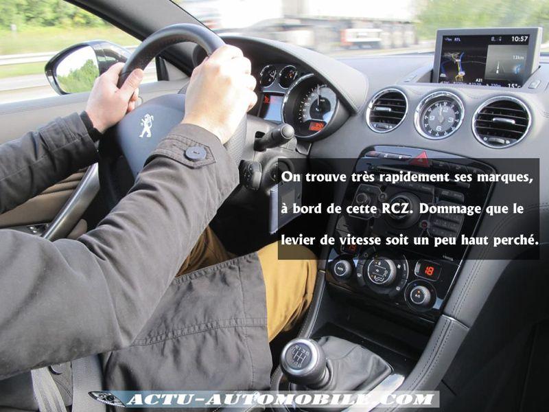 Habitacle Peugeot RCZ