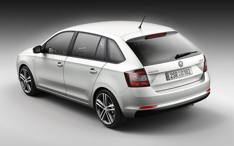 Nouvelle Skoda Rapid Spaceback