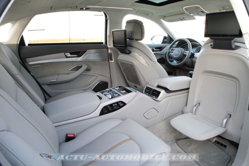 essai nouvelles audi s8 et a8 l w12 actu automobile. Black Bedroom Furniture Sets. Home Design Ideas