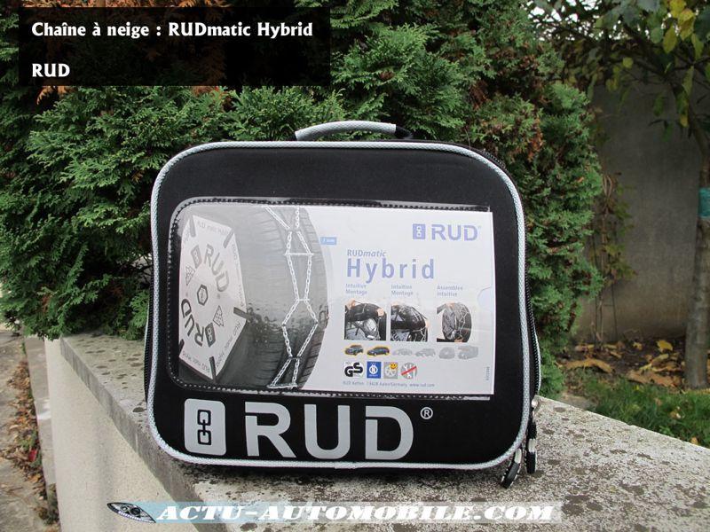 Chaines à neige Rudmatic Hybrid