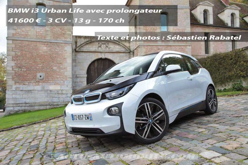 essai bmw i3 concept next premium actu automobile. Black Bedroom Furniture Sets. Home Design Ideas