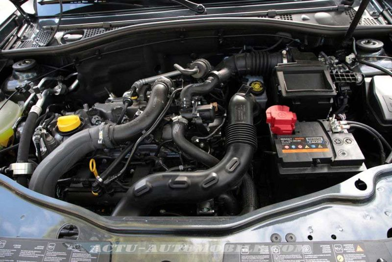 Moteur TCe 125 Dacia Duster restylé
