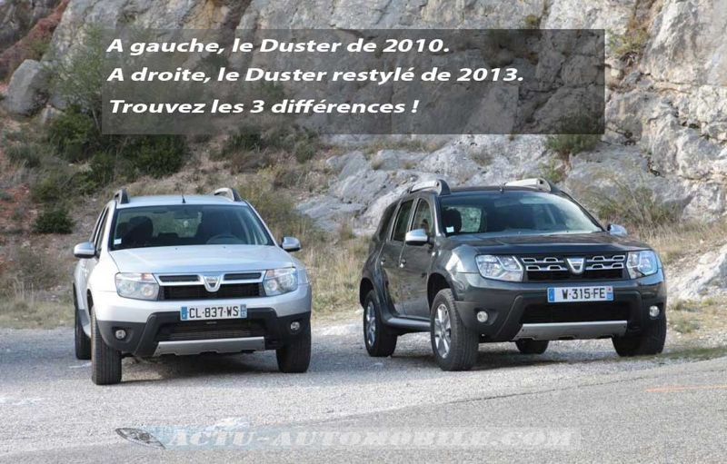 essai dacia duster restyl tce 125 prestige actu automobile. Black Bedroom Furniture Sets. Home Design Ideas