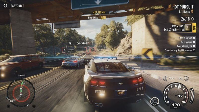 Essai Need For Speed Rivals Sur Ps3
