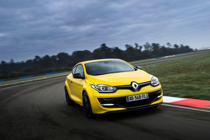 Nouvelle Renault Mégane R.S