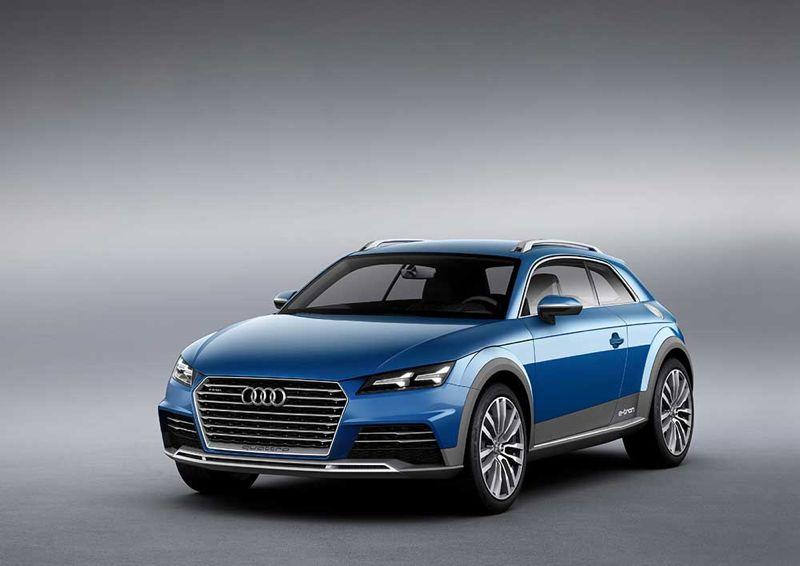 concept car Allroad Shooting Brake Audi