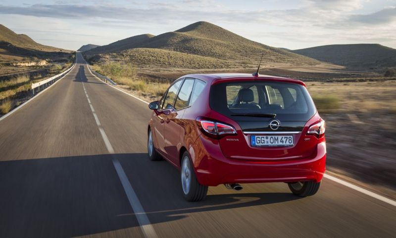 Opel Meriva restylé
