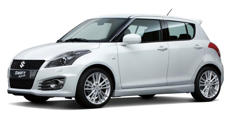 la suzuki swift sport s 39 offre des portes arri re actu automobile. Black Bedroom Furniture Sets. Home Design Ideas