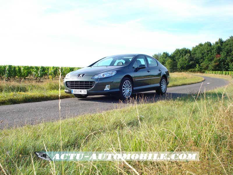 Essai Peugeot 407