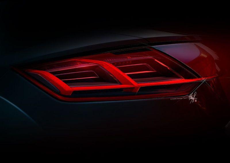Feu arrière nouveau Audi TT