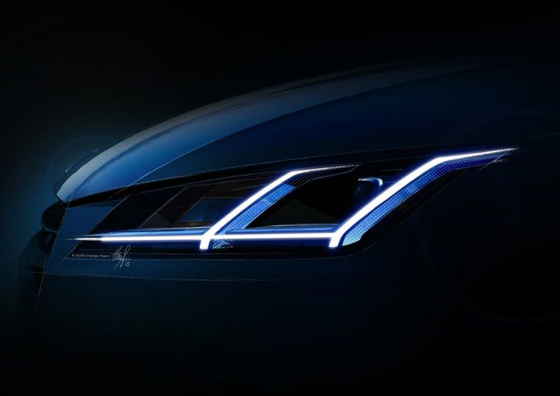 Phare avant nouveau Audi TT