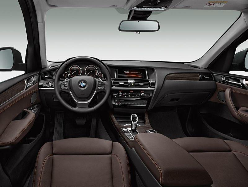 Planche de bord nouveau BMW X3
