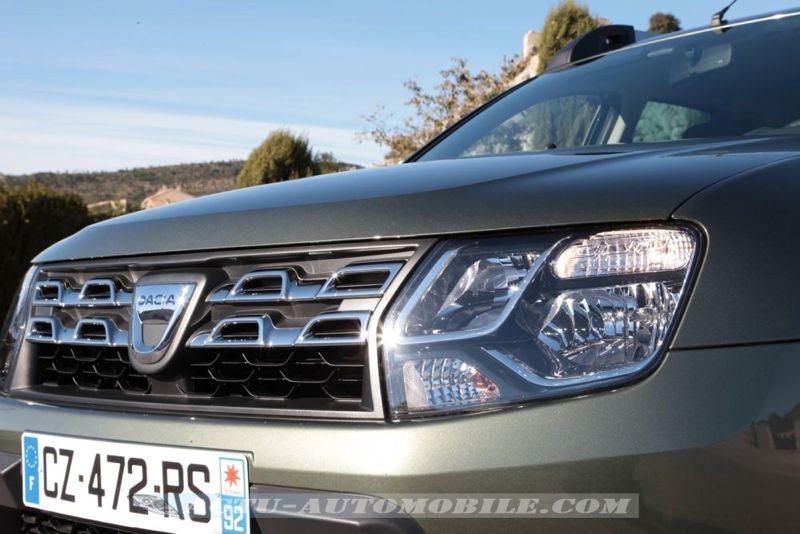 Calandre nouveau Dacia Duster