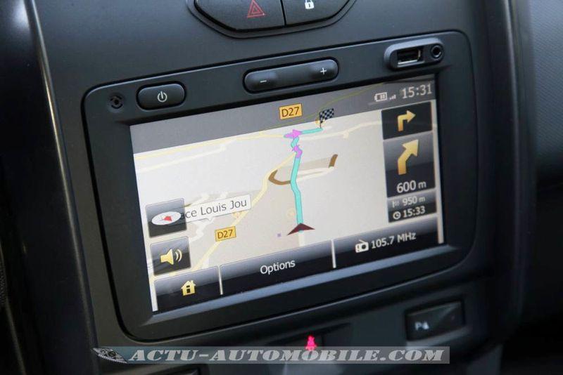 GPS nouveau Dacia Duster