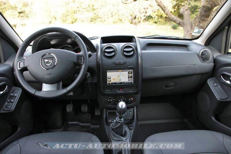 Planche de bord nouveau Dacia Duster