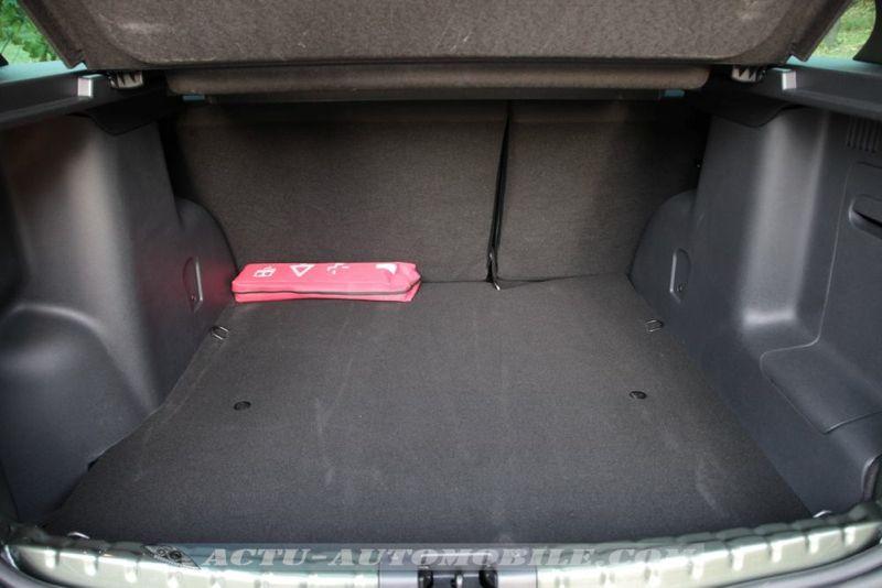 Coffre nouveau Dacia Duster