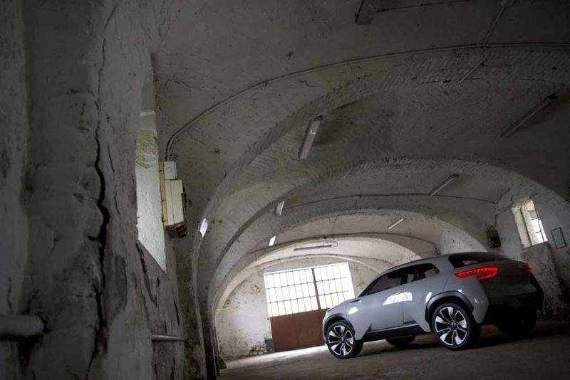concept car hyundai intrado premi res photos actu automobile. Black Bedroom Furniture Sets. Home Design Ideas