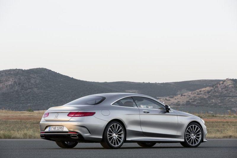 Nouvelle Mercedes Classe S Coupé