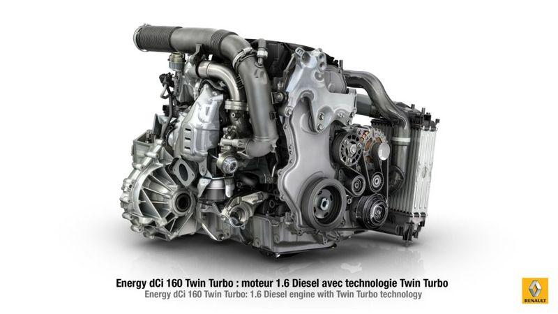 Moteur diesel Renault