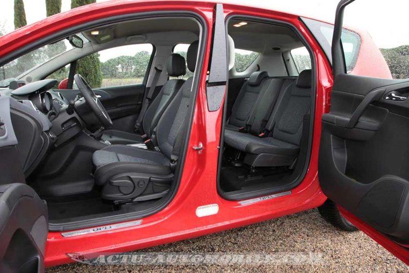 Portes arrière antagonistes Opel Meriva restylé