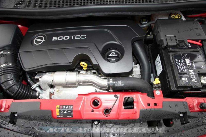 Nouveau moteur 1.6 CDTI 136 Opel