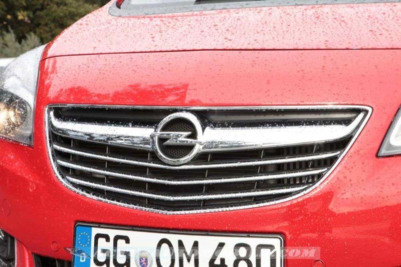 Calandre Opel Meriva restylé