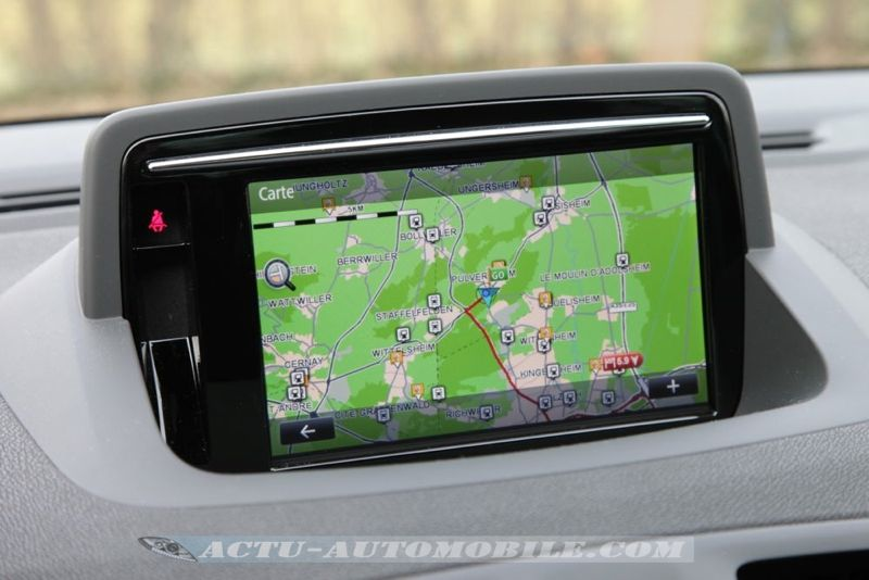 GPS R-Link nouvelle Renault Mégane Bose