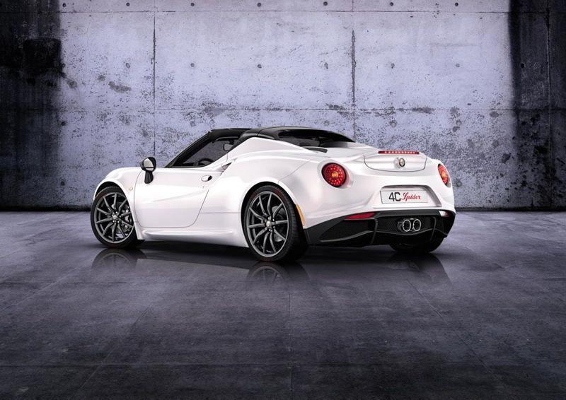 Alfa 4C Spider