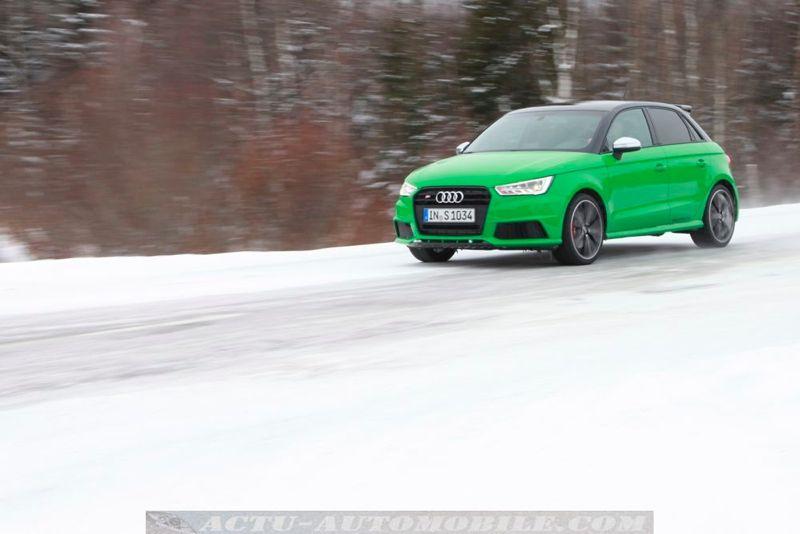 Audi S1 Sportback Viper Green