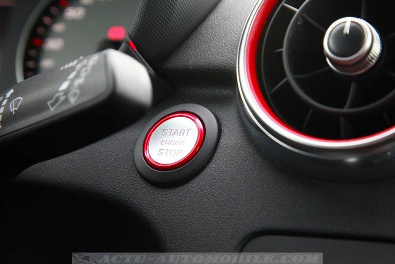 Audi S1 Sportback : démarrage sans clé en option ( 475 euros )