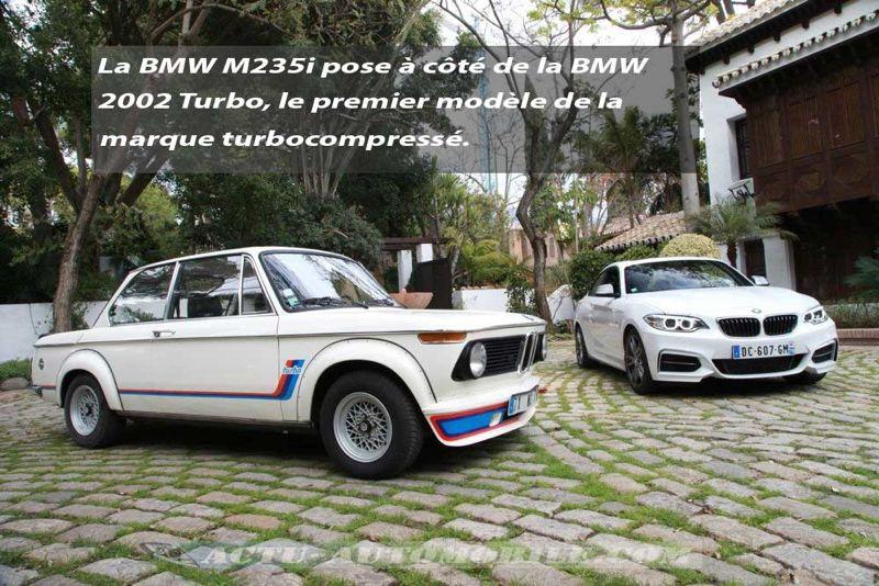BMW 2002 Turbo et M235i