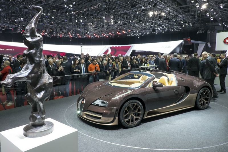 Veyron Grand Sport Vitesse Rembrandt Bugatti