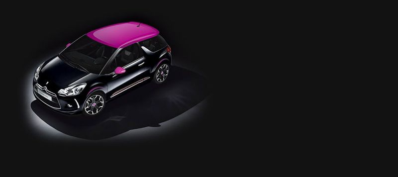 Citroën DS3 Dark Rose
