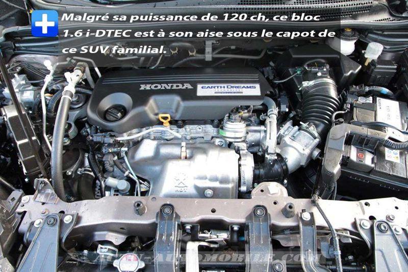 Moteur Honda CR-V 1.6 i-DTEC