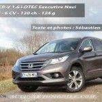 Essai Honda CR-V 1.6 i-DTEC Executive Navi