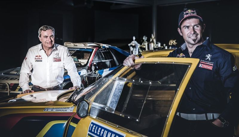 Carlos Sainz et Cyril Despres