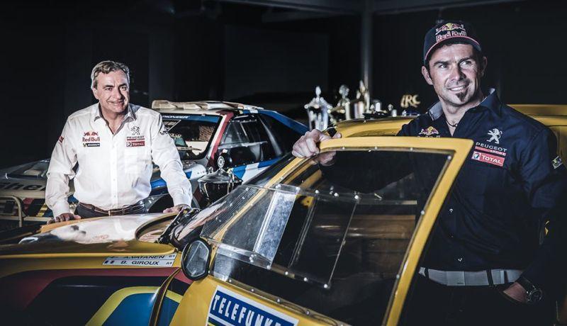 Carlos Sainz et Cyril Despres