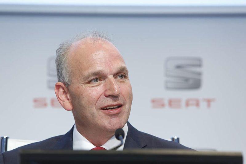 Jurgen Stackmann, Président de SEAT