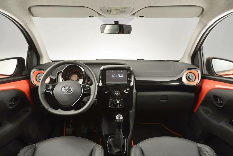 Planche de bord Toyota Aygo 2014