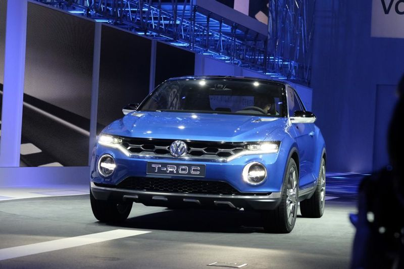 volkswagen t roc premi re mondiale gen ve actu automobile. Black Bedroom Furniture Sets. Home Design Ideas