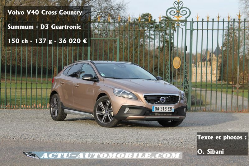 Volvo V40 Cross Country D3 Summum Geatronic
