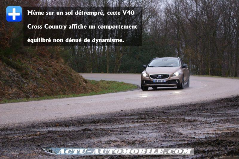 Tenue de route V40 Cross Country